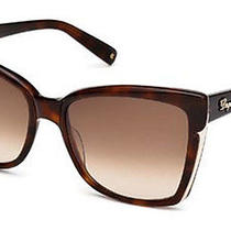 Dsquared2 Eyewear Women's Dq0098 Acetate Sunglasses    Photo
