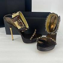 Dsquared2 High Heels Ankle Sandals Size 8 Brand New Photo