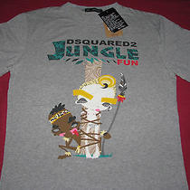 Dsquared2 Jungle Fun T-Shirt Size Xl Photo