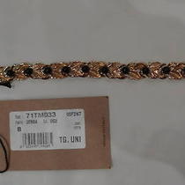 Dsquared2 Ladies Gold Tone Bracelet 100%Authentic Italy Photo