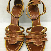 Dsquared2 Leather Sandals 38 Brown Used Photo
