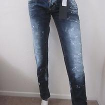 Dsquared2  Made in Italy Hand Painted on and Thrashed by Design Jean 44 650 Photo