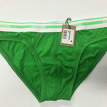 Dsquared2 Mens's Green Underwear  Photo