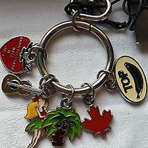 Dsquared2  Multicolor Enamel Hawaii Keychain Ring Accessory Original Photo