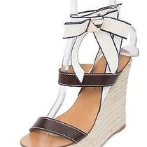 Dsquared2 New Dsquared Womens Strappy Rope Wedge Espadrilles Size Eu 38 Us 8 Photo