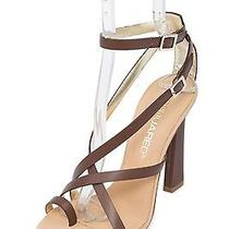 Dsquared2 New Dsquared Womens Toe Ring Brown Leather Sandals Size Eu 38 Us 8 Photo