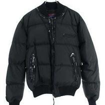 Dsquared2 Size 52 71 Am113 Patent Switching Nylon Zip-Up-Down Jacket Photo