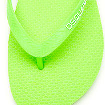 Dsquared2 Vogue Runway Flip Flops Neon Free Us Ship 42 Eu 9 Us New Reg 160 Photo