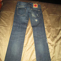 Dsquared2 Womens Designer Jeans Size I 38 Made in Italy - Amazing Photo