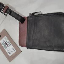 Dsquared2 Wrist Wallet Black/brown 100%Authentic Italy Photo