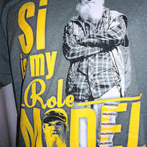 Duck Dynasty T-Shirt Funny Si Role Model Lg-2x Hey Hunt Buck Beard Mother Day Gf Photo