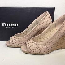 Dune London Cassie Women's Size 8 Blush Wedges Heels Dress Shoes Ss-146 Photo