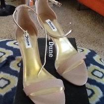 Dune London Marissa Blush Leather Women's Heels Size 41 (Us 10 m) Photo