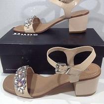 Dune London Womens Mahala Blush Leather Rhinestone Sandals Shoes Size 9 Zh-562 Photo