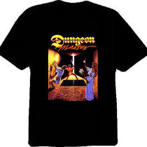 Dungeon Master Classic Fantasy Video Game Rpg Crpg T Shirt Photo