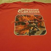 Dungeons and Dragons Fantasy Roleplaying Game T-Shirt Size Xxl Photo