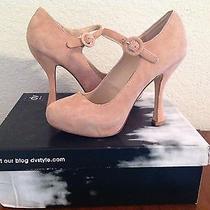 Dv by Dolce Vita Pippi Womens Size 7 Blush Suede Shoe Photo