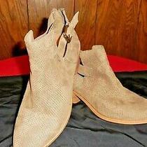 Dv Dolce Vita Tan Womans Bootie Shoes Size 8 Photo