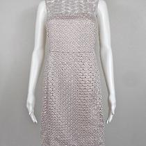 Dvf Diane Von Furstenberg  'Kinchu' Sg Lace  Blush Nude Dress  Size 4  Ntsf Photo