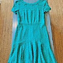 Dvf Fifi Dress Diane Von Furstenberg Parakeet Green Teal Women's Size 6 Nwt Photo