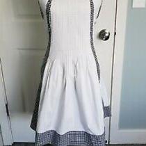 Dvf White Black Checkered Samella Cocktail Dress Size 6 Photo