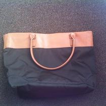Dwell Studio Women's Chocolate Hudson Nylon Tote Diaper Bag Photo