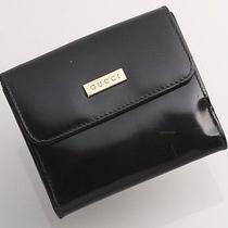 E0539 Authentic Gucci Pvc Wallet Photo