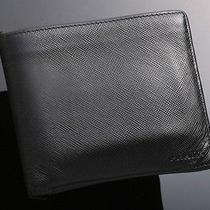 E1306 Authentic Prada Genuine Leather Wallet (Junk) Photo