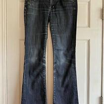 E45 Citizens of Humanity Electric Guitar Boot Grommet Stretch Jeans Womens 31 Photo