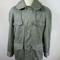 E8672 Vtg 1950s Us Army Hudson Usaf Cold Weather Field Coat Military Jacket M Photo