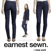 Earnest Sewn Blake High Rise Skinny Blue Jeans Size 26 Photo