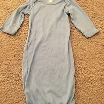 Earth Elements Baby Boy Light Blue 0-3 Months Long Sleeve Clothing Photo