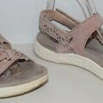 Earth Origins Westfield Wendy Sport Sandals Blush Suede Women's Size 8.5 M Euc Photo