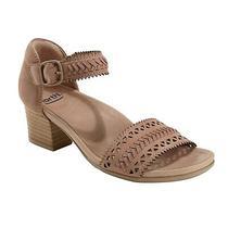 Earth Seneca - Women's Closed Back / Open Toe Sandal Dark Blush - 8.5 Medium Photo