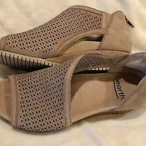 Earth Shoes Ficus Capricorn Leather Sandals Dark Blush Brown Womens 7 M Photo