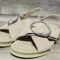 Earth Women's Grove Ambrosia Dark Blush Leather Sandals 9.54m-1694 Photo