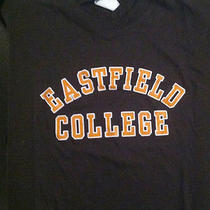 Eastfield College Campus Shirt Brown With Orange Lettering New Xl Photo