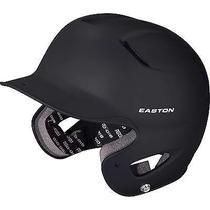 Easton Junior Natural Grip Black Batting Helmet Photo