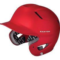 Easton Junior Natural Grip Red Batting Helmet Photo