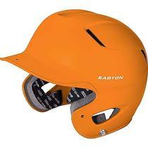 Easton Senior Natural Grip Orange Batting Helmet Photo