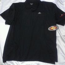 Easton Sports Black Hockey Polo Coach Shirt Top Size Xl Photo