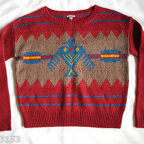 Ecote Urban Outfitters Womens Aztec Eagle Sweater M Photo
