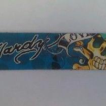 Ed Hardy Kids Skull Leather Bracelet Blue Photo