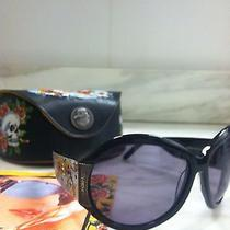 Ed Hardy Koi Fish Sunglasses With Case Photo