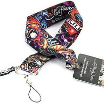 Ed Hardy Logo Cell Phone Lanyard Photo