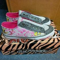 Ed Hardy Lowrise Womens Sneaker Size 5 Photo