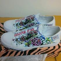 Ed Hardy Lowrise Womens Sneaker Size 7 Photo