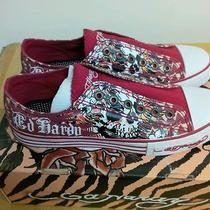 Ed Hardy Lowrise Womens Sneaker Size 8 Photo