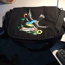 Ed Hardy Messenger Computer Laptop Bag Tattoo Flash Sparrow Photo