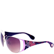 Ed Hardy Purple Mum Lola Sunglasses- Purple Photo